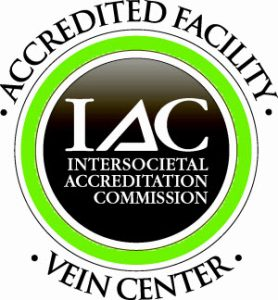 IAC Accredited Vein Center badge for UCHealth