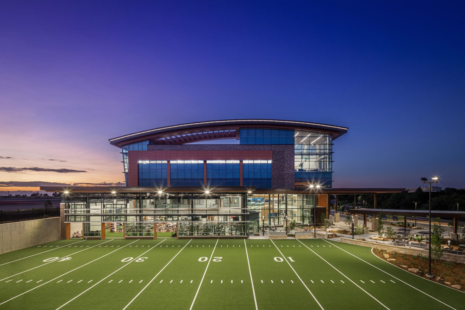 UCHealth Inverness Location Football Field