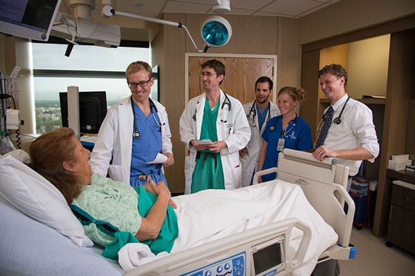 University of Colorado Hospital Rounding