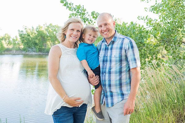 Amy Hansen, who found out she had cancer when she was 11 weeks pregnant  with her now two-and-a-half-year-old son, Gavin, is now pregnant again and  remains ...