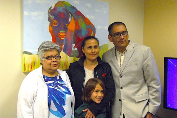 Arturo Garcia and family