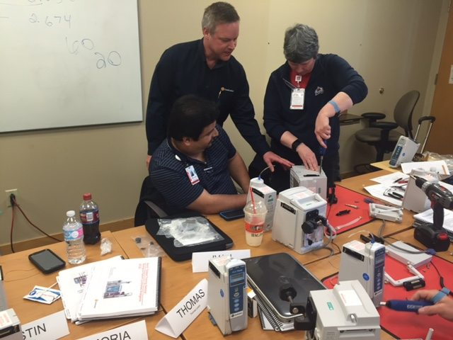 Tin-depth training on Alaris Pumps