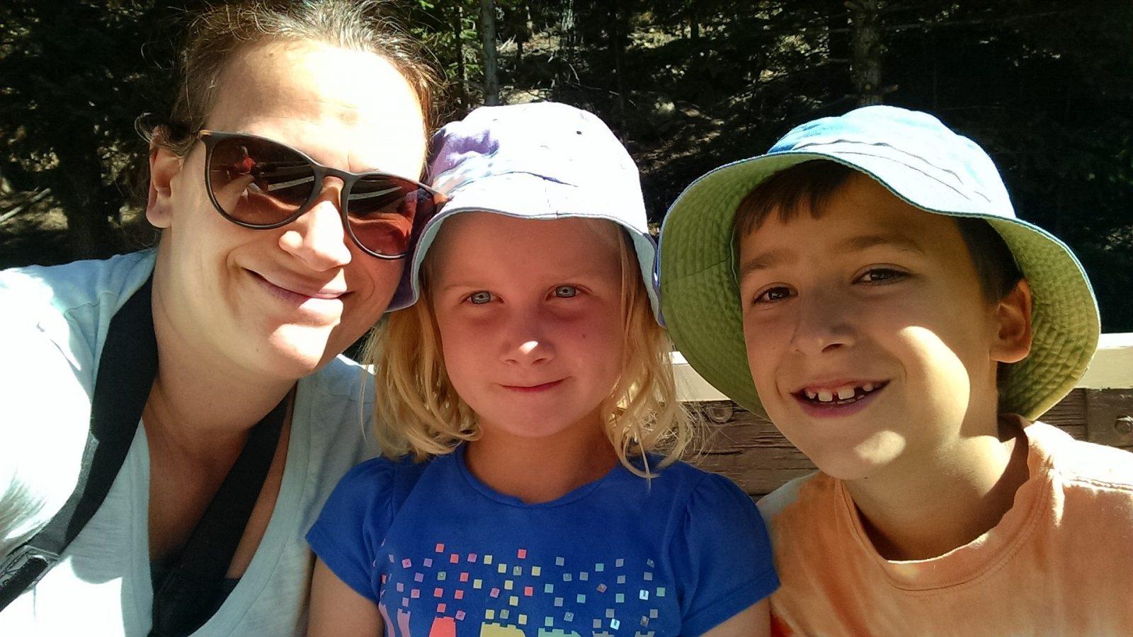 Rebecca, Lucia, and Owen Pre-diagnosis