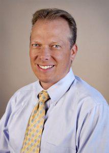 Corey Lyon, DO, medical director of UCHealth's A.F. Williams Family Medicine Clinic.