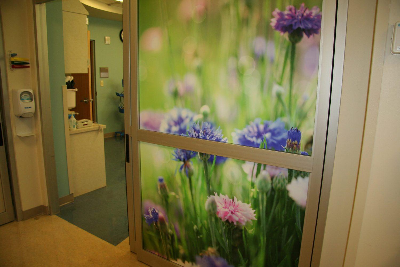 exam room door