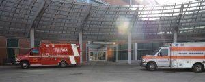 a picture of ambulances