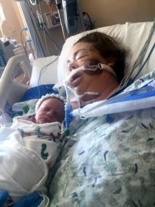 Before Veronica Wilkins woke from her emergency open-heart surgery, nurses at UCHealth Medical Center of the Rockies made sure that her son, delivered via emergency C-section minutes before his mother's surgery, gets time to bond.