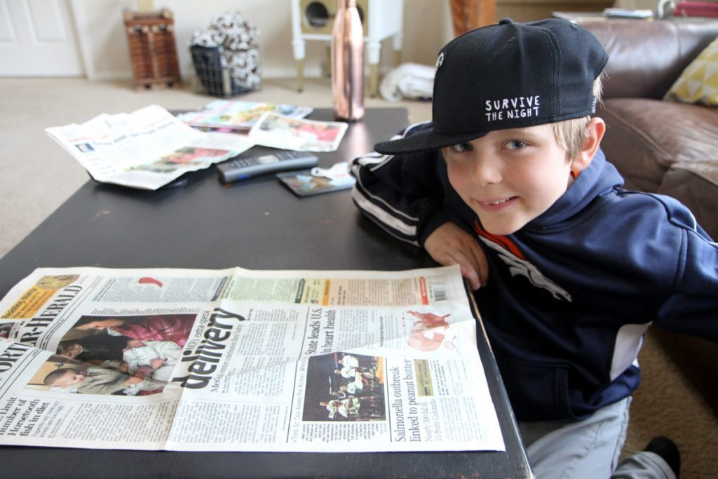 Rohen George looks at the newspaper article from February 2007