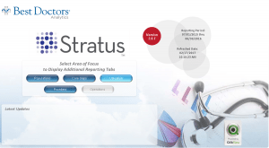 This image highlights the collaboration between Best Doctors' Stratus and UCHealth's electronic medical record, Epic.