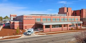 This is an image of UCHealth Poudre Valley Hospital in Fort Collins.