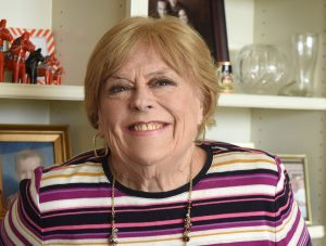 Headshot of Martha Mikley who needed help with wound care. She's smiling in this picture now that her wound has healed.