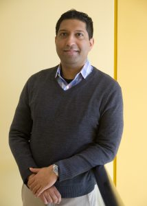 """Saketh Guntupalli, MD, a University of Colorado School of Medicine surgeon and specilist in gynecologic oncology. Guntupalli's book, """"Sex and Cancer,"""" is to be published on July 8, 2017."""