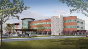 An artist's rendition of UCHealth Greeley Medical Center