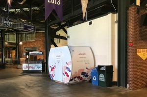 UCHealth's nursing suite at Coors Field is shown in this photo.