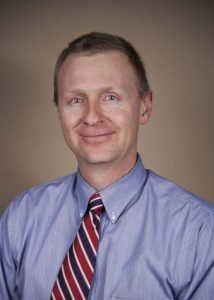 This is a photo of Matthew Taylor, MD, PhD. Taylor is director of the Adult Genetics Clinic at UCHealth University of Colorado Hospital.