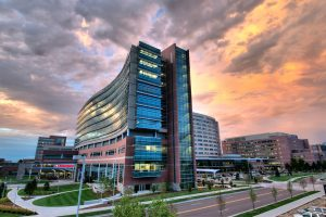 This is a photo of UCHealth's University of Colorado Hospital.