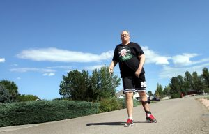 Roger Jorgensen shares his inspirational stroke story of walking 4,300 miles over the past three years with UCHealth.