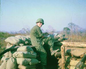 J.D. Hill in Vietnam in 1967