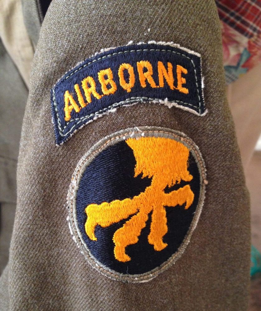 Pfc. Jim Ingram was part of the 194th Glider Division of the 17th Airborne during WWII.