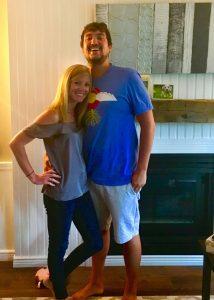 Ashley McAfee and husband, CJ,