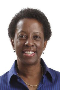 Regina Brown, MD, is shown in this photo.
