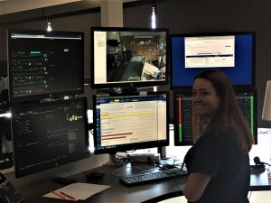 An image of computers shows how people can do virtual visits.