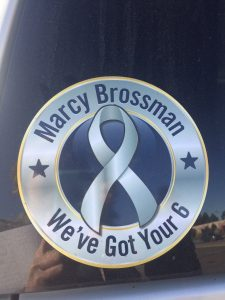Cheyenne Wells County Sheriff's vehicles are adorned with this decal.
