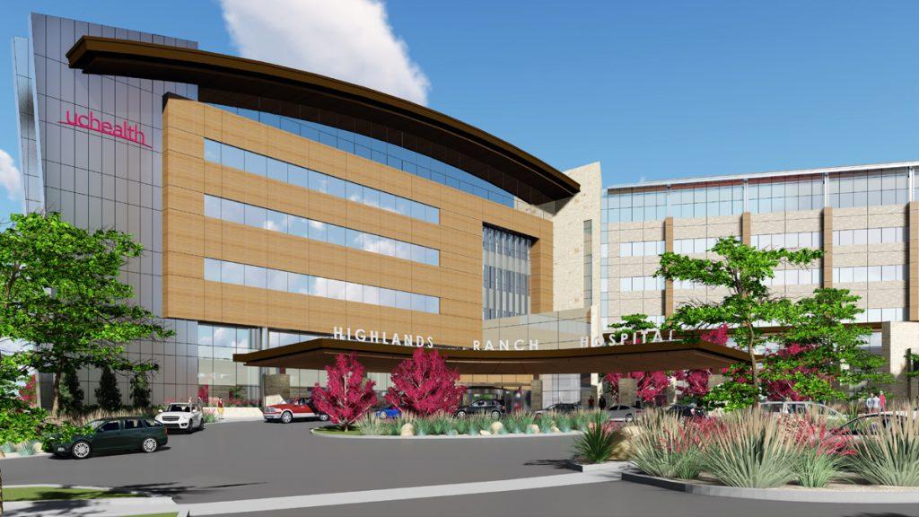 artist rendering of hospital