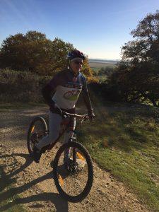 Macpherson on the Hadleigh Park course last November.