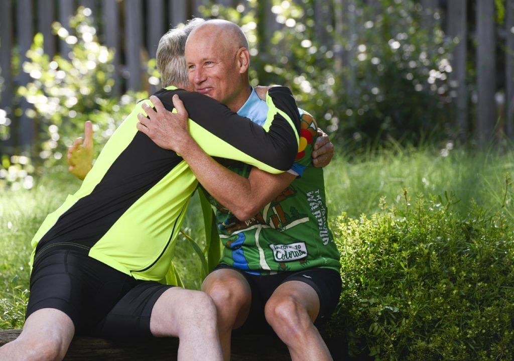 Eastman said La Point will never know how much the gift of a kidney has meant. La Point says he's the one who has received greater gifts. Photo by Cyrus McCrimmon for UCHealth.