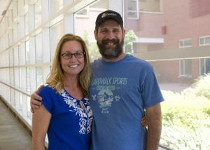 Tom and Amy Essig at UCHealth University of Colorado Hospital