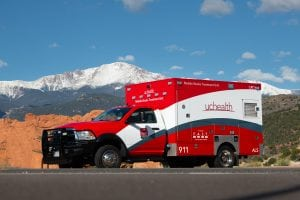 A photo of UCHealth's Mobile Stroke Treatment Unit.