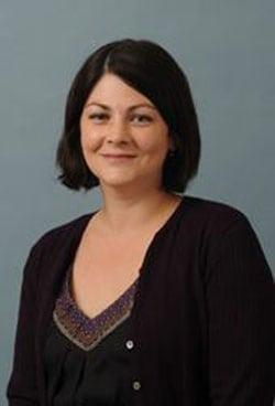 A photo of Leslie Hulvershorn