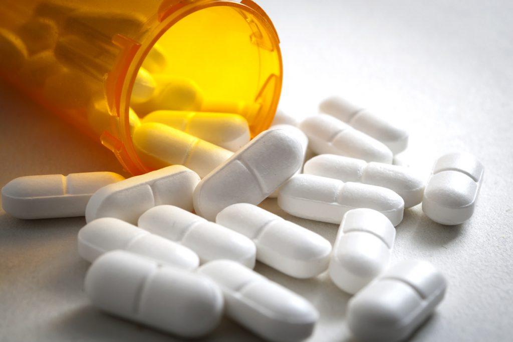 A photo of pills