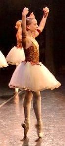 Amelia dancing