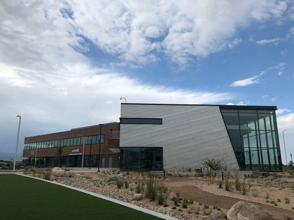 A photo of UCHealth's Sterling Ranch Medical Center
