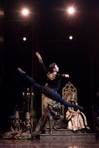 Yosvani Ramos performs for the Colorado Ballet before his Achilles injury.