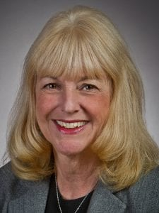Portrait photo of a chief nursing officer.