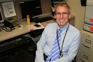 Dr. Ross Camidge of the UCHealth University of Colorado Cancer Center was lead author of the ALTA-1L study.