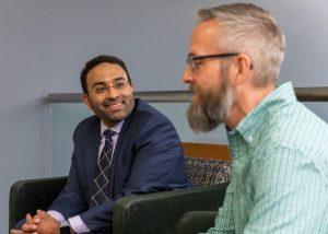 "Aftab says Brian's prognosis is good and that he's ""crushing cardiac rehab."""