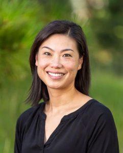 profile shot of Emily Su