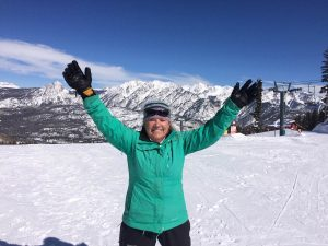 Just over three months after Hunt performed the surgery on her ankle, Carlson was back skiing at Purgatory on Feb. 28. She had 16 days in by April 29.