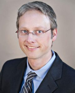 A photo of Dr. Kevin Rogers