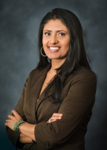 This is a photo of Soniya Fidler. She will become the next president of UCHealth Yampa Valley Medical Center on July 1, 2019.