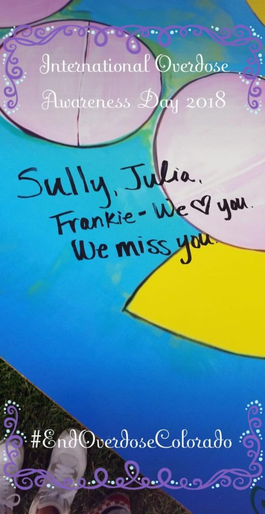 poster that reacs, Sully, Julia, Frankie - with love you. we miss you.