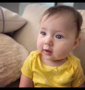 brain tumor survivor Chaise Webber's daughter, Isabella