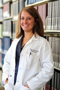 Dr. Stacy Fischer is principal investigator at CU for the palliative care telehealth trial. Photo by UCHealth.