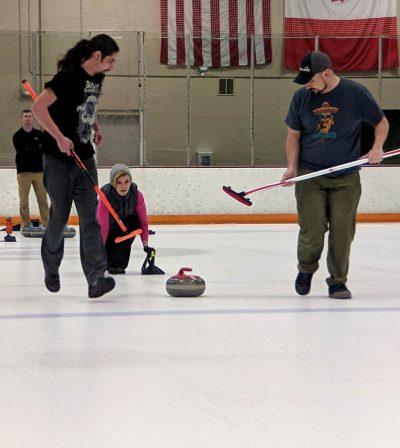 team is curling