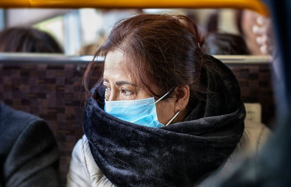 women wears medical masks to keep safe during this new coronavirus outbreak.