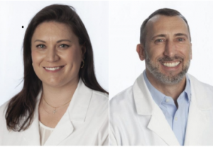 Image of dr. christina goldstein and dr. christopher gallus